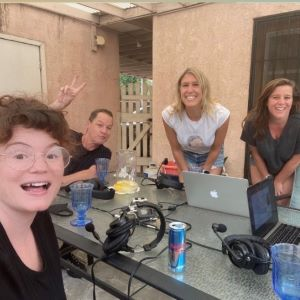 Live from Tess' Backyard! – with French Stewart – Episode 400